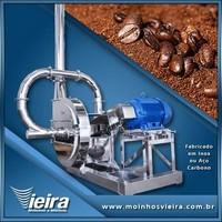 Fábrica de moinho industrial de café