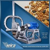 Moinho de grãos industrial