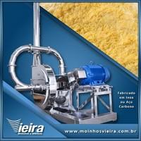 Moinho industrial de farinha de milho