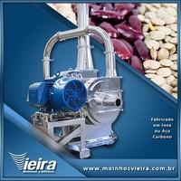 Moinho industrial de grãos elétrico