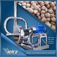 Moinho industrial de martelo para grãos