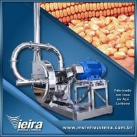 Moinho industrial para grãos de milho
